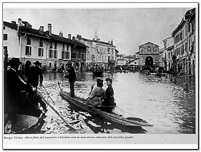 Esondazione fiume Ticino anno 1926-2