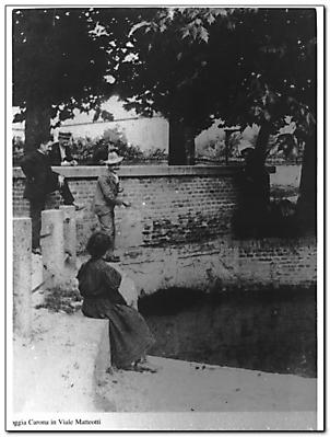 Scorci di un passato della città di Pavia Italy-10